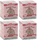 Gund Pusheen Blind Box Series #2 Surprise Plush 4-Pack Bundle