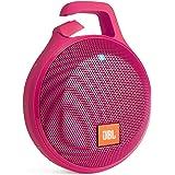 JBL CLIP+ Bluetoothスピーカー IPX5防水機能 ポータブル/ワイヤレス対応 ピンク  JBLCLIPPLUSPINK【国内正規品】