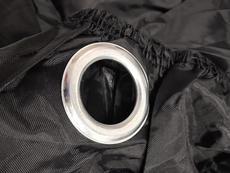バイクカバー-KissZoo-420D高品質-丈夫な厚手生地-耐熱・防塵・防水・防雪