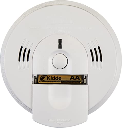 Kidde Intelligent Detector Alarm Battery Operated Combination Smoke Carbon Monoxide Detector Alarm Model KN-COSM-XTR-BA
