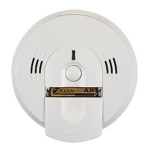 Kidde Intelligent Detector Alarm Battery Operated Combination Smoke & Carbon Monoxide Detector Alarm | Model KN-COSM-XTR-BA