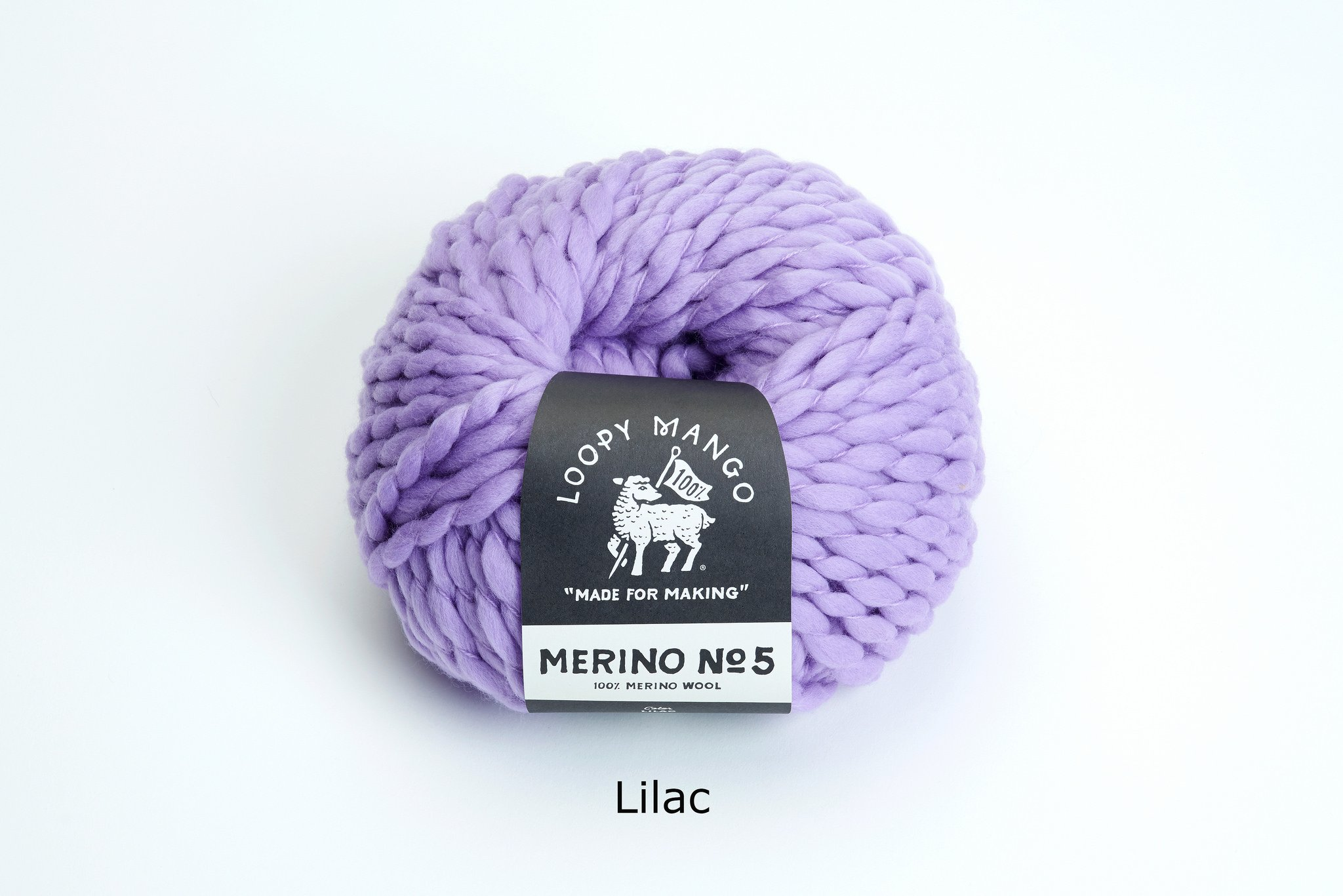Loopy Mango DIY All You Knit Kit - My First Hat (Lilac) by Loopy Mango (Image #5)