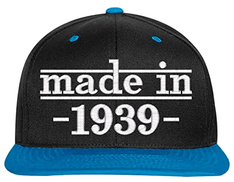 SNBCK 1949 70th Birthday Gift Made In Snapback Hat EM