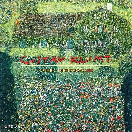 Calendario 2019 artista Gustave Klimt naturaleza - Art ...
