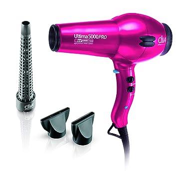 Diva Professional Ultima 5000 Pro New Pink - Secador profesional, motor AC de larga vida y boquilla estrecha profesional, color rosa: Amazon.es: Salud y ...