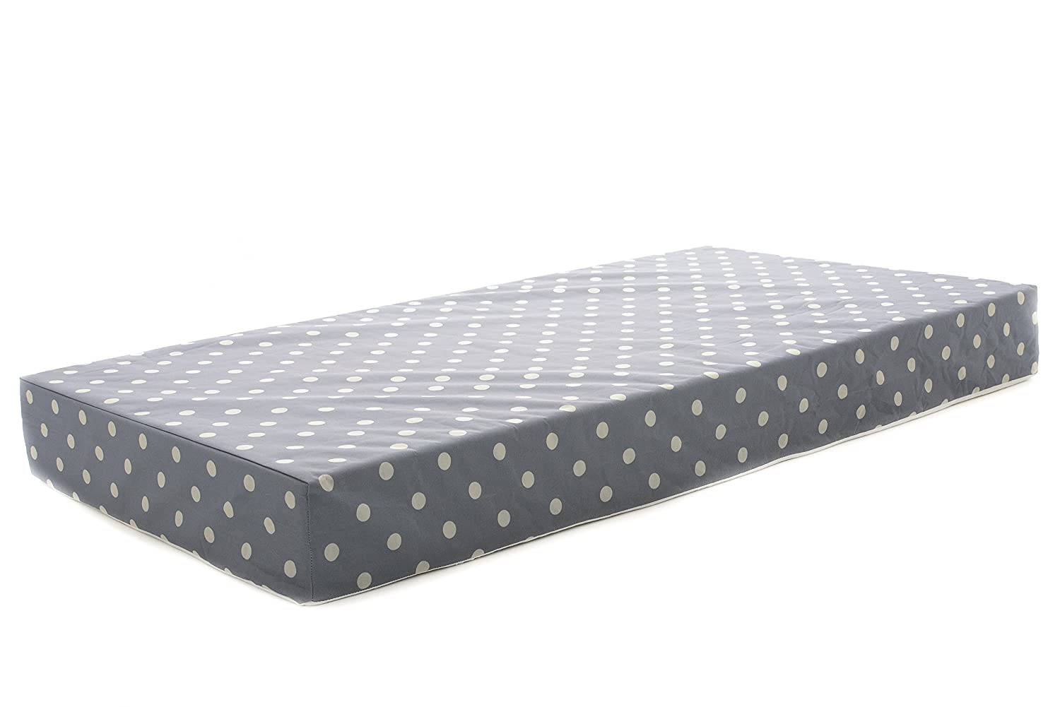 Milliard 12.5cm Hypoallergenic Foam Baby Cot Mattress/Crib Mattress with Waterproof Cover, Extra Thick for Extra Comfort and Support - (Cot Mattress 120cm x 60cm)