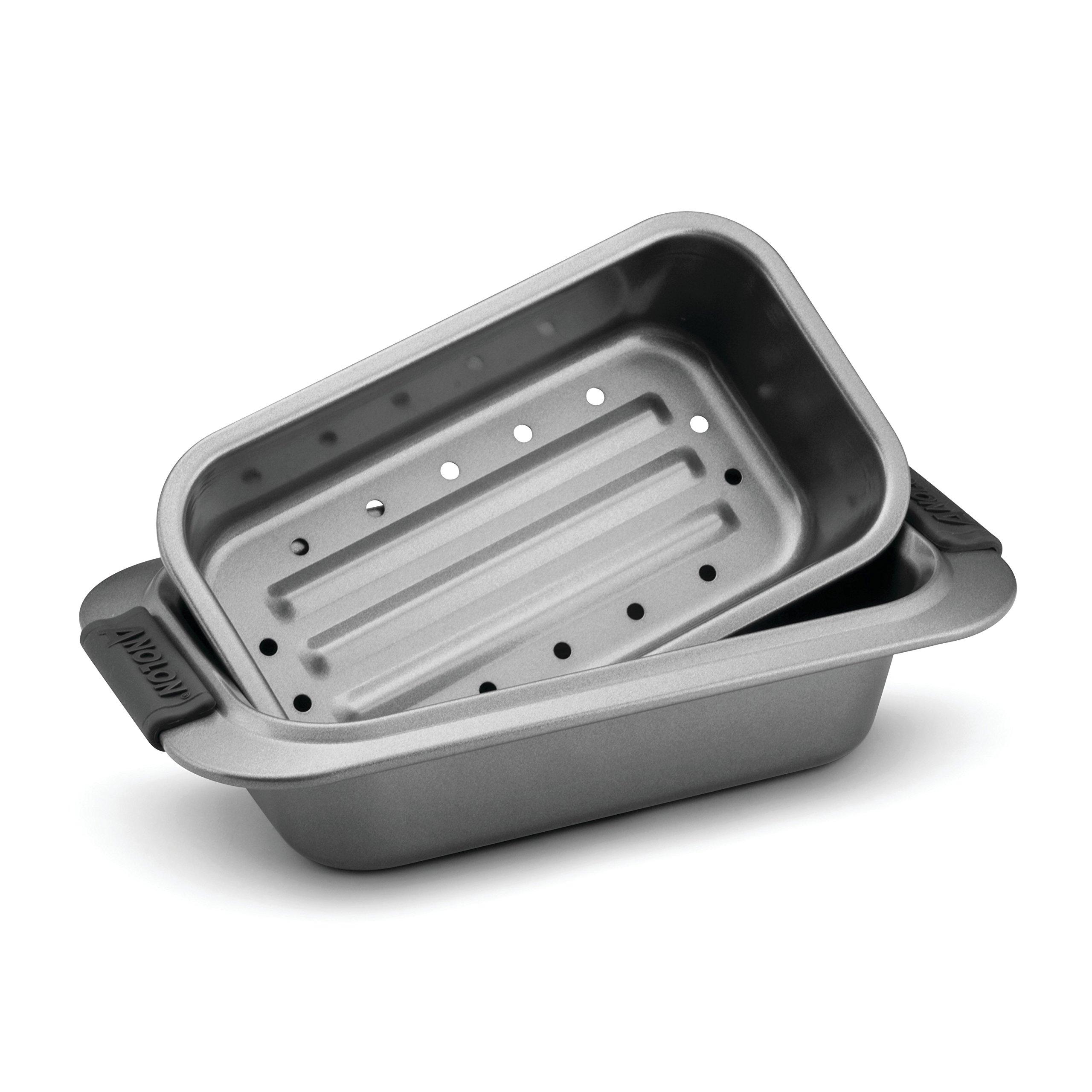 Anolon Advanced Nonstick Bakeware 2-Piece Loaf Pan Set