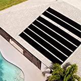Smart Pool S601 Pool Solar Heaters, Pack of 1, Black