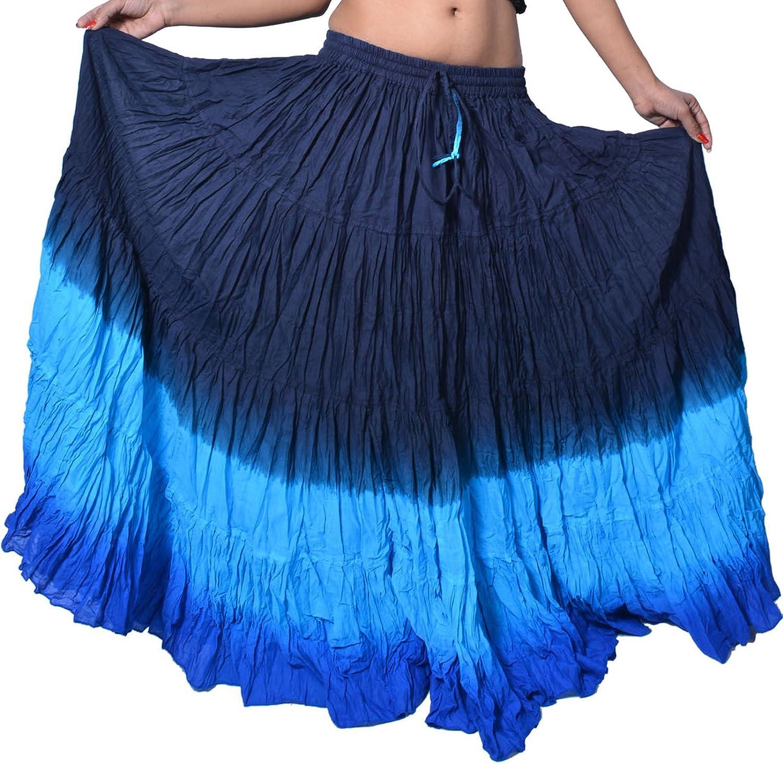 12 Yard Gypsy American Tribal Skirt 100/% Cotton
