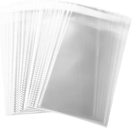 """Cookies 3/""""x 3/"""" Cellophane Gusset Bags Crafts Sweets Quality Display Bags"""