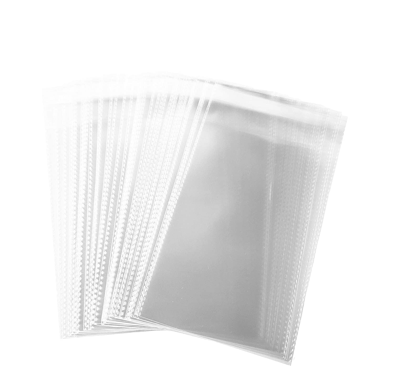 200 pcs Clear Flat Resealable Cello/ 2 MIL Cellophane Bags (8' x 10') FlanicaUSA