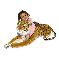 Amazon.com deals on Melissa & Doug Tiger Plush 2103