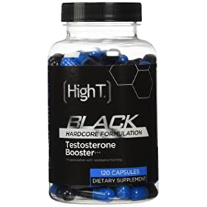 High T Black - Best All Natural Testosterone Booster