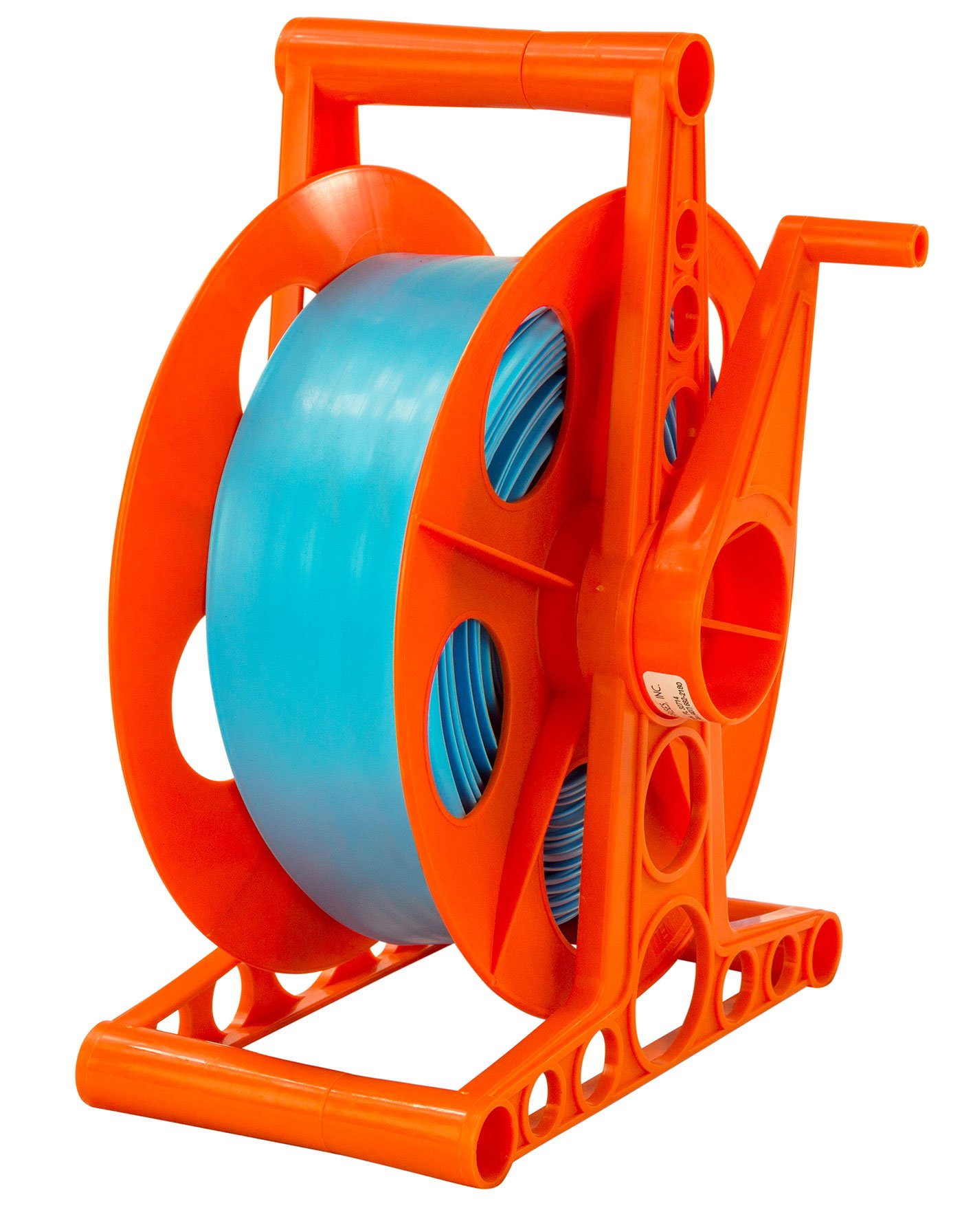 LASS ENTERPRISES Swimming Pool Backwash Discharge Hose Reel - Includes 100 ft Hose by LASS ENTERPRISES