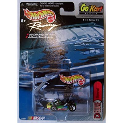 Hot Wheels Racing Nascar Go Kart Series #3 of 4 Deluxe Universal: Toys & Games