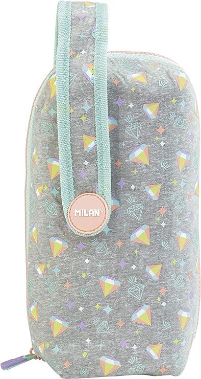 MILAN Kit 4 estuches con contenido Sugar Diamond, diamantes: Amazon.es: Oficina y papelería