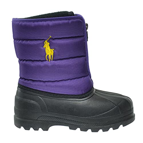 Lauren Zip Little Boots Vancouver Kids M 95673c2 Polo Purple Ralph DH9I2E