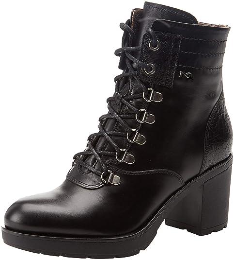 Nero Giardini Caracas Crack, Botines para Mujer, Negro (Black 100), 39 EU: Amazon.es: Zapatos y complementos