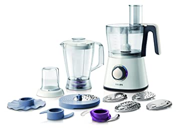 philips 750 w kitchen food processor hr7761 01 with accessories for   28 functions philips 750 w kitchen food processor hr7761 01 with accessories      rh   amazon co uk