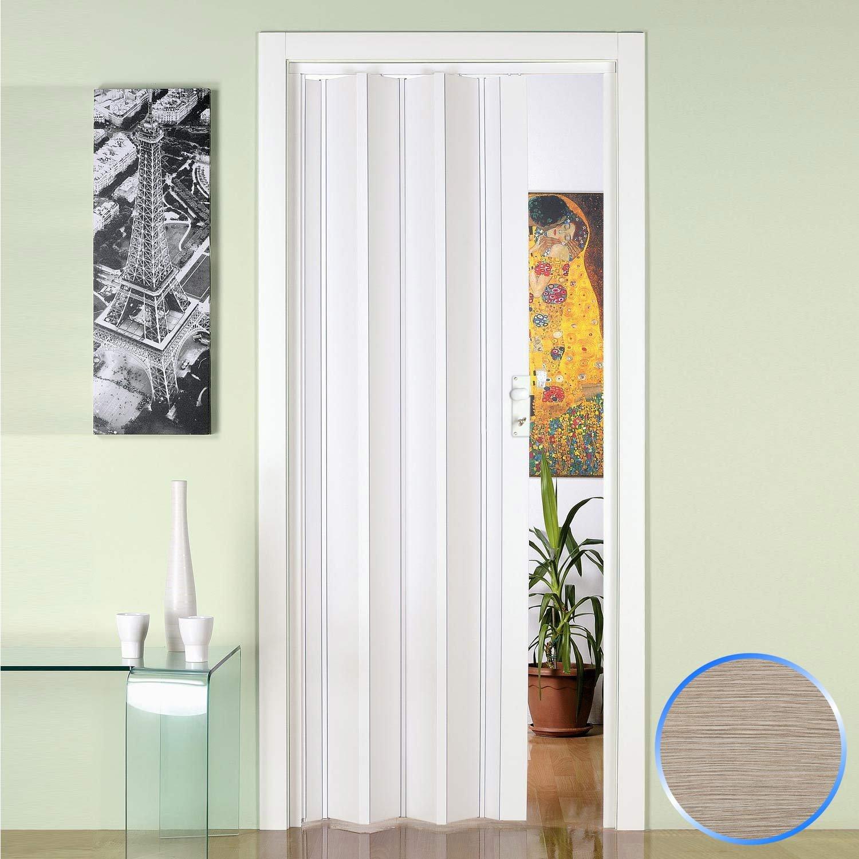 Luciana Porte pliante accord/èon en pvc blanc 88,5x214cm mod