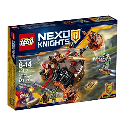 LEGO NexoKnights Moltor's Lava Smasher 70313: Toys & Games