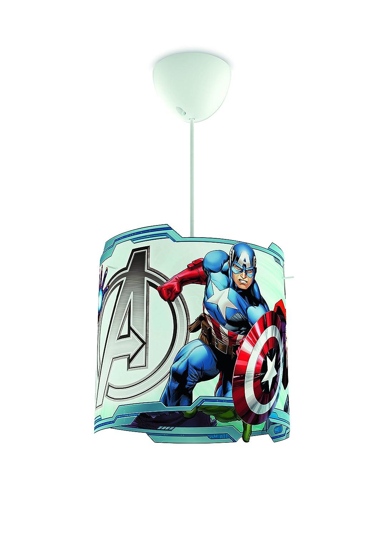 Philips Deckenlampe, Marvel Comics-Design, plastik, mehrfarbig, Shade Only