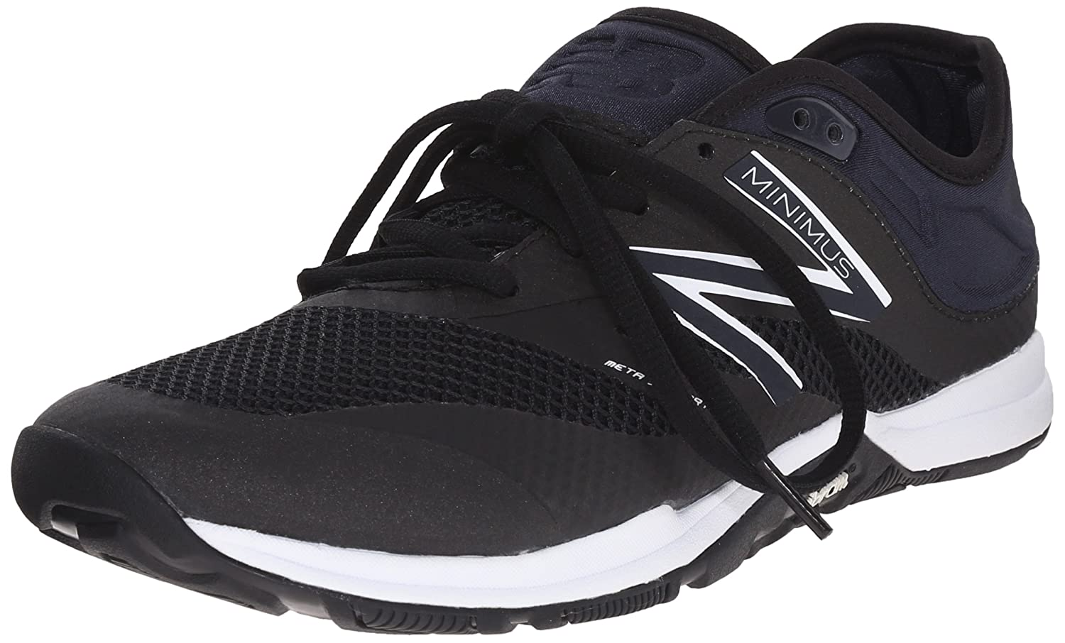 New Balance Women's 20v5 Minimus Training Shoe Black/White