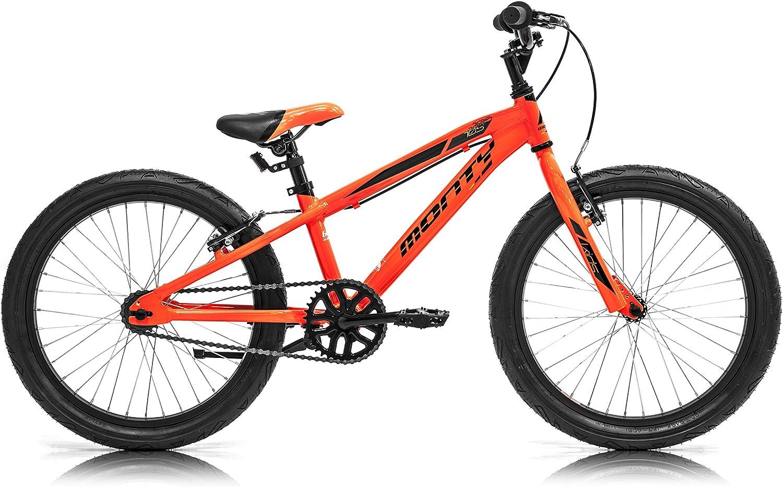 Monty 105 Bicicleta, Unisex niños, Naranja, Talla Única: Amazon.es: Deportes y aire libre