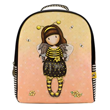 Santoro Gorjuss Mochila Rucksack Backpack - Bee Loved Just Bee Cause: Amazon.es: Deportes y aire libre