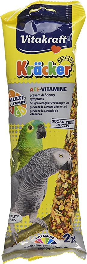 Vitakraft krõcker Multivitamin – Parrot (Pack de 5): Amazon.es: Productos para mascotas