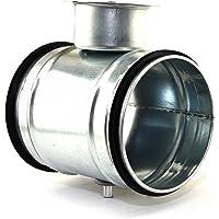 Ventilación Tubo Válvula de estrangulación ajustable Aire Cabal