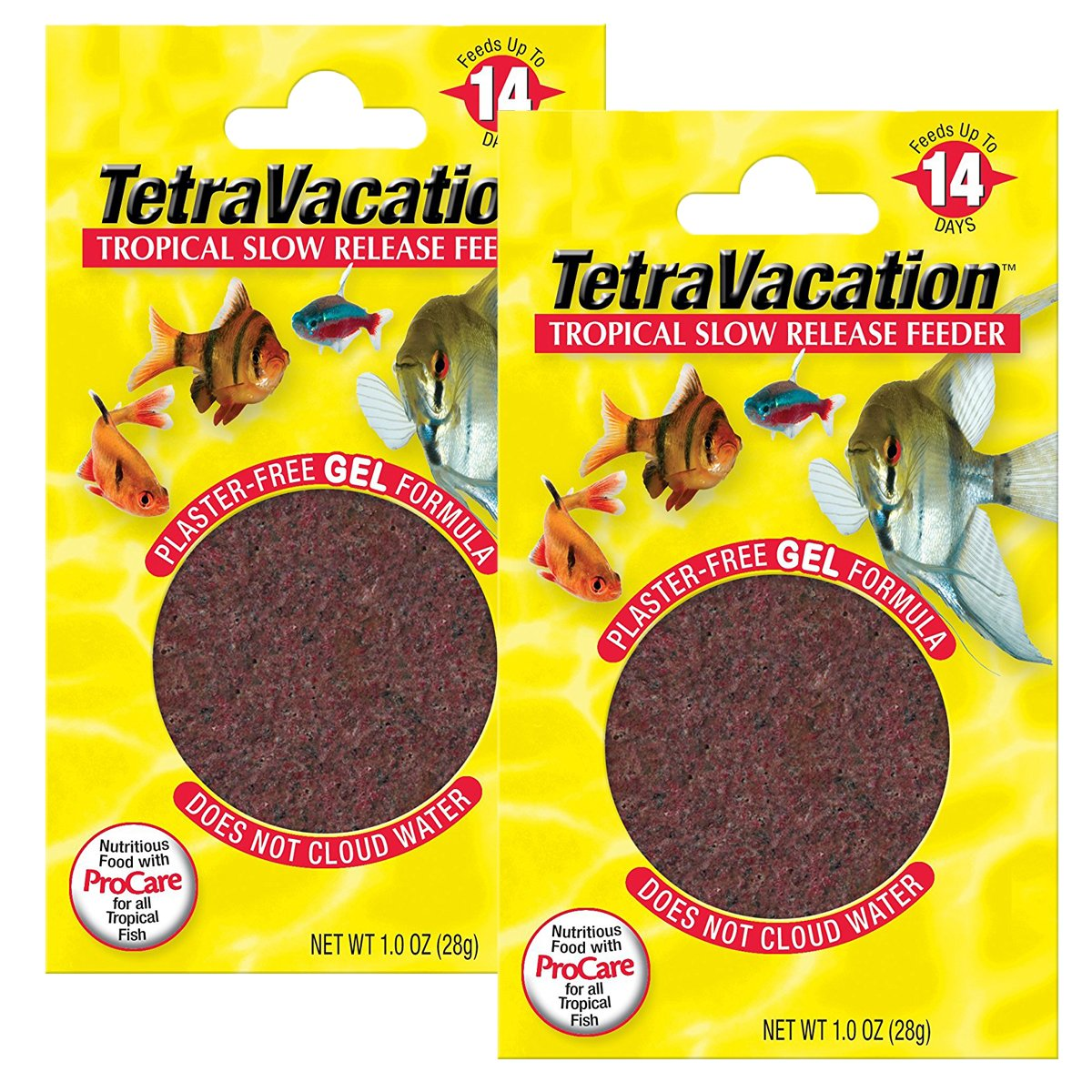Tetra Vacation Tropical Slow Release Feeder, 2.12-Ounce