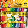 DMC Prism 6-Strand Floss Jumbo Pack 8.7yd 105/Pkg, Assorted Colors