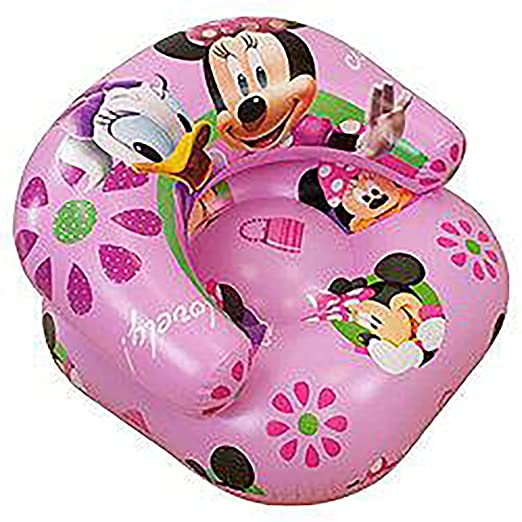 Niños niña Disney Minnie Mouse Sillón hinchable: Amazon.es: Hogar