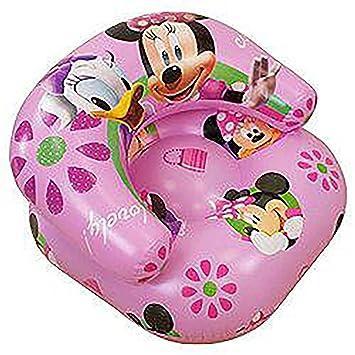 Kinder Mädchen Disney Minnie Mouse aufblasbarer Sessel (siehe ...
