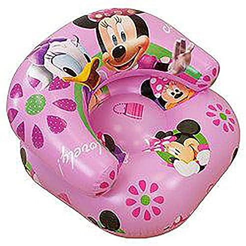 Kinder Madchen Disney Minnie Mouse Aufblasbarer Sessel Siehe Beschreibung Pink