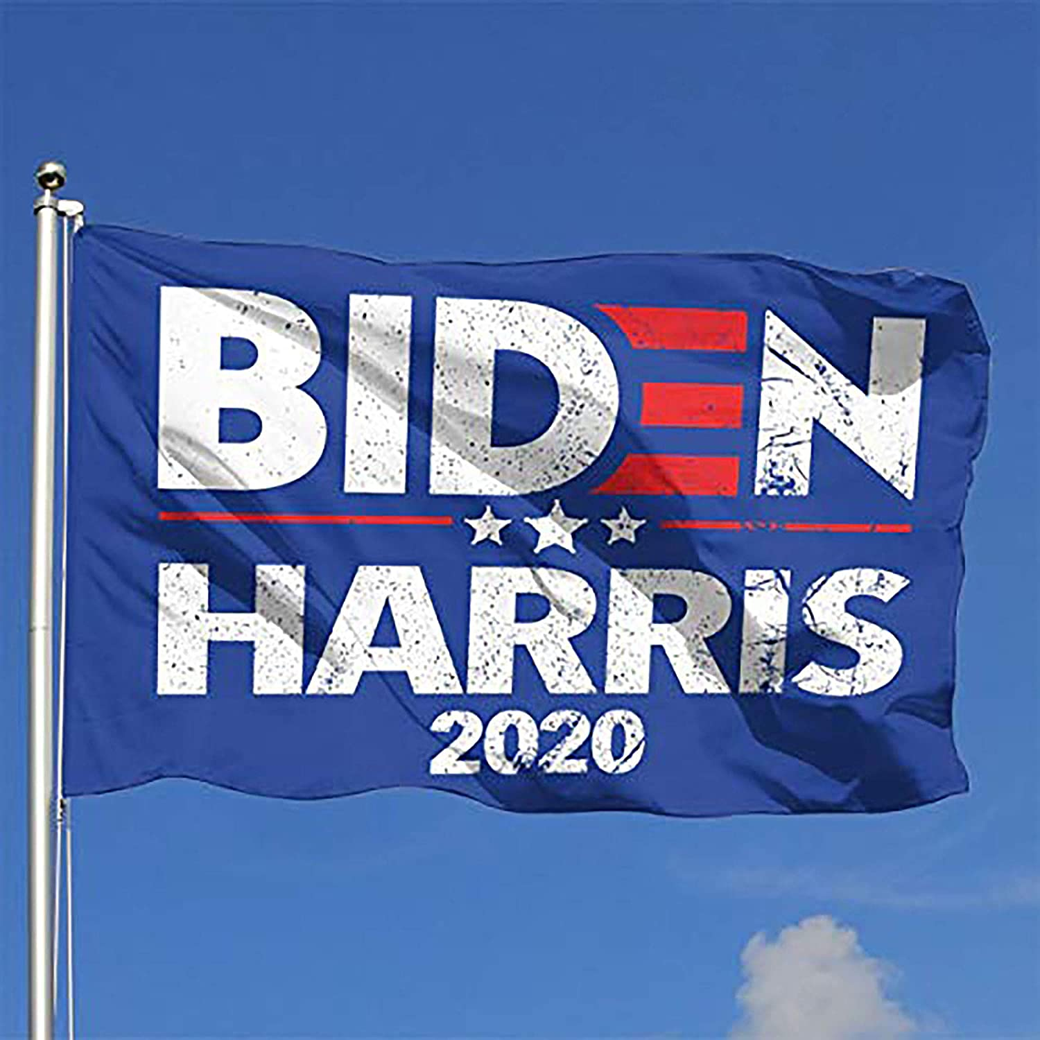 Larerh Biden Harris Flag Durable and Fade Resistant,Perfect for Any Balcony Or Courtyard, Garden Decorative Banner 4x6 Foot