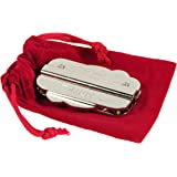 Slider Hanayama Puzzle, New 2020 Release, with RED Velveteen Drawstring Pouch