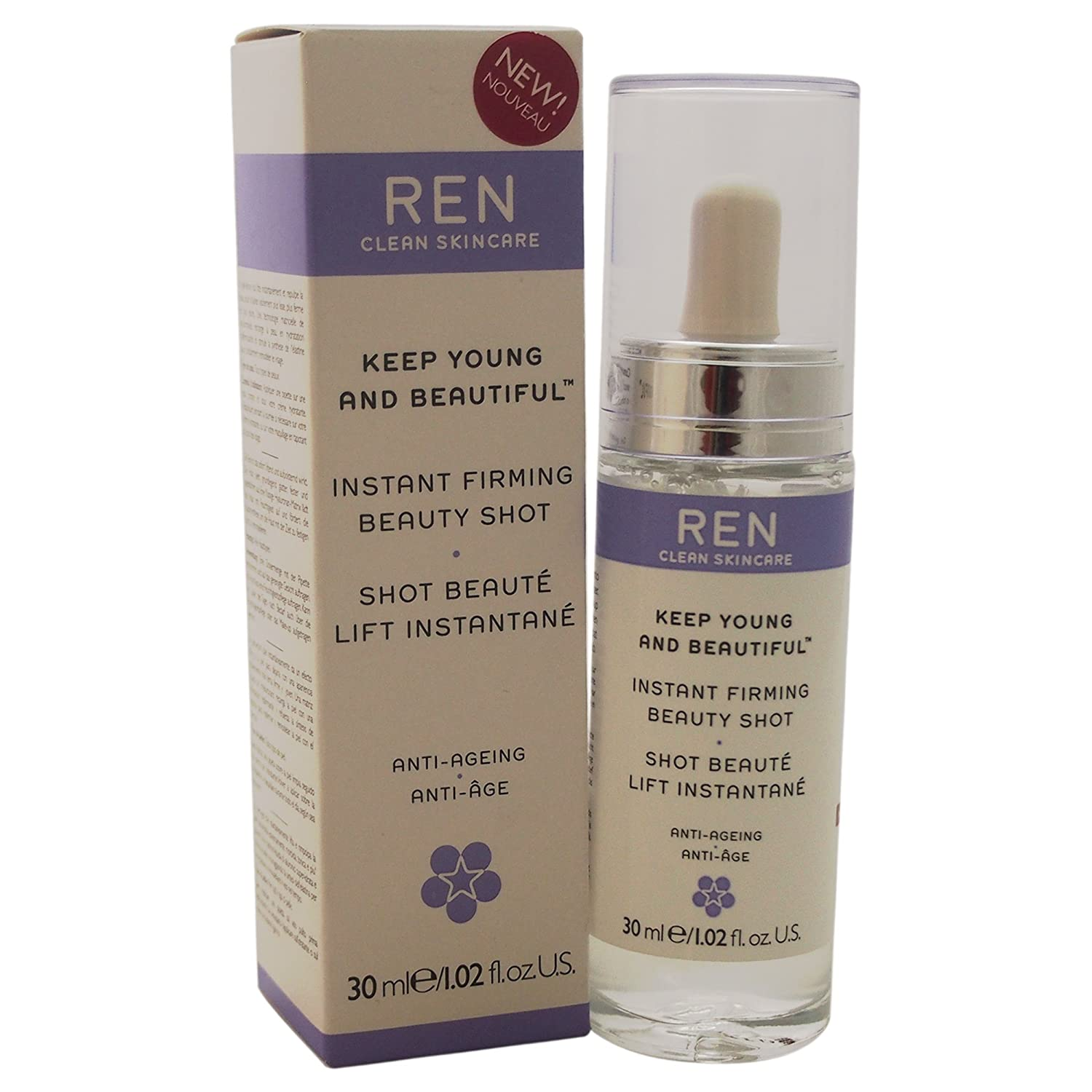 Ren Clean Skincare keep young and beautiful instant firming beauty shot, 30ml U-SC-3692 28003846