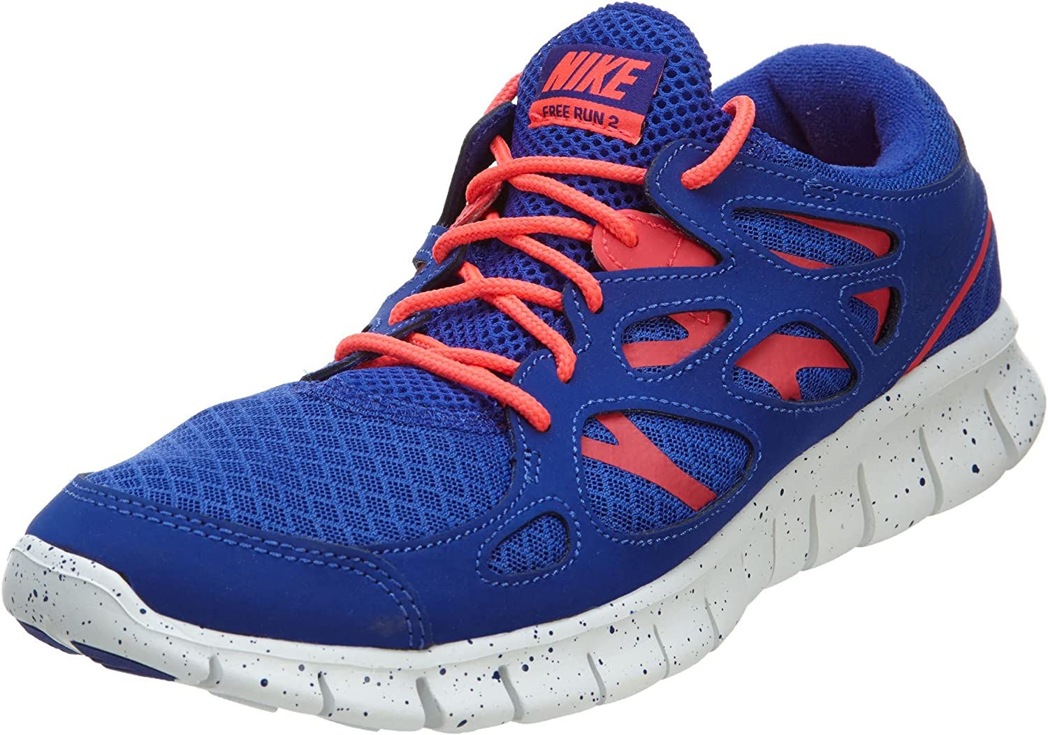 Mujer siesta Discurso  Amazon.com | Nike Mens Free Run 2 EXT Breathable Workout Running Shoes Blue  9 Medium (D) | Road Running