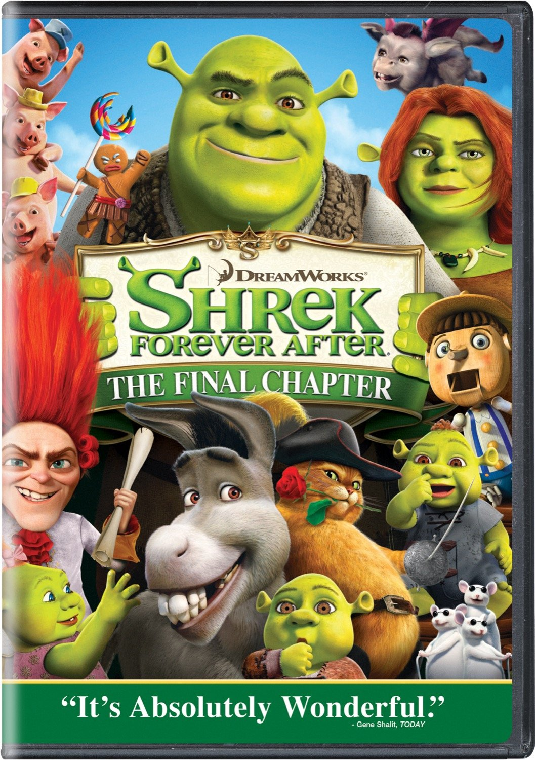Amazon Com Shrek Forever After Single Disc Edition Mike Myers Cameron Diaz Mike Mitchell Movies Tv