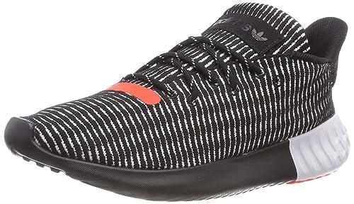 separation shoes dbcff a2558 adidas Tubular Dusk, Scarpe da Fitness Uomo, Nero (Negbás Ftwbla Rojsol
