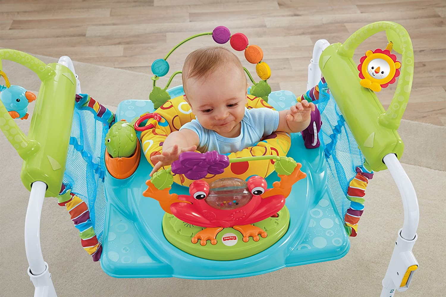 1f60f8b3ca17 Amazon.com   Fisher-Price First Steps Jumperoo   Baby Walkers   Baby