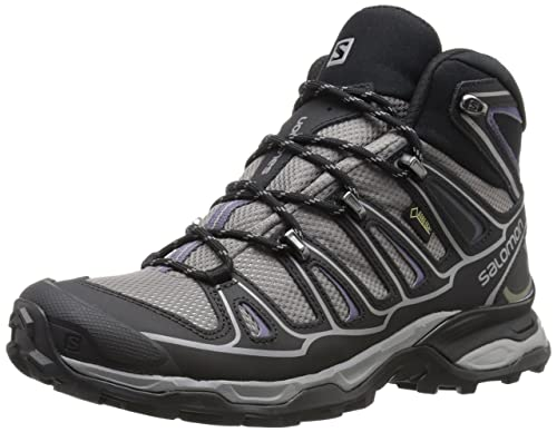 Salomon X Ultra Mid 2 GTX, Zapatillas de Senderismo para Mujer, Azul (Detroit/Black/Artist Grey-X), 42 EU: Amazon.es: Zapatos y complementos