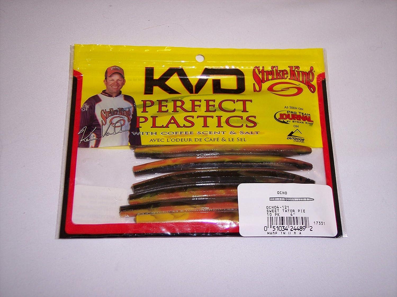 "20 pk 5/"" Senko style SALT GREEN PUMPKIN RED FLAKE Soft Plastic Worm SCENT"