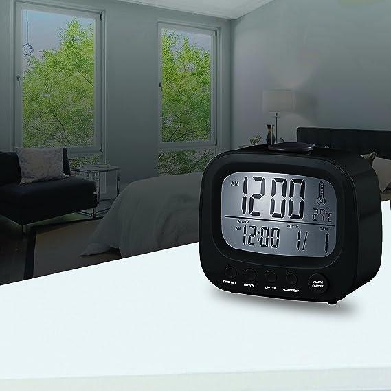 Amazon.com: Coby CBC-52-BLK Retro LCD Alarm Clock (Black): Home Audio & Theater