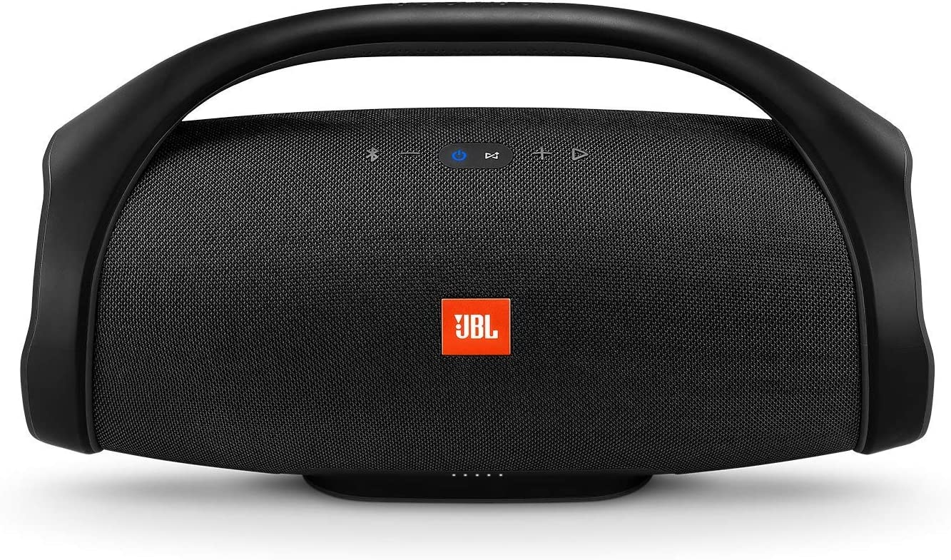 JBL Boombox Portable Bluetooth Waterproof Speaker Black Renewed