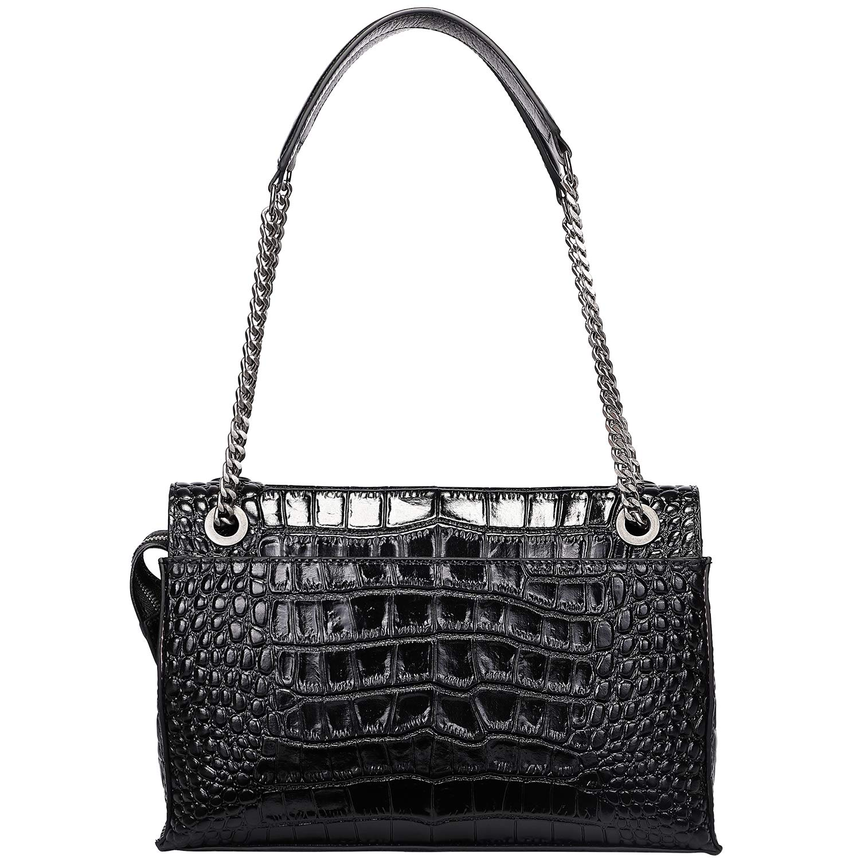0dc1bf15bd4 PIJUSHI Women Shoulder Bag Crossbody Bags Designer Crocodile Chain Purses