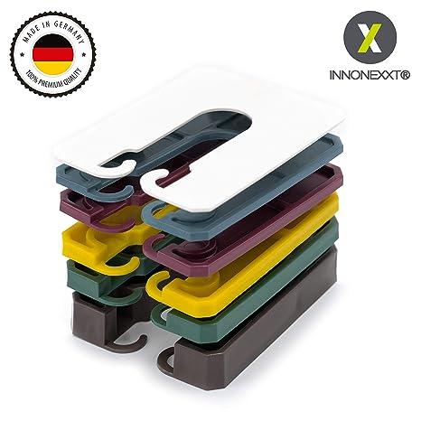 INNONEXXT® Premium Abstandshalter | 60 x 45 mm, 400 Stück | Made in Germany | Unterlegplatten, Abstandhalter, Distanzhalter a