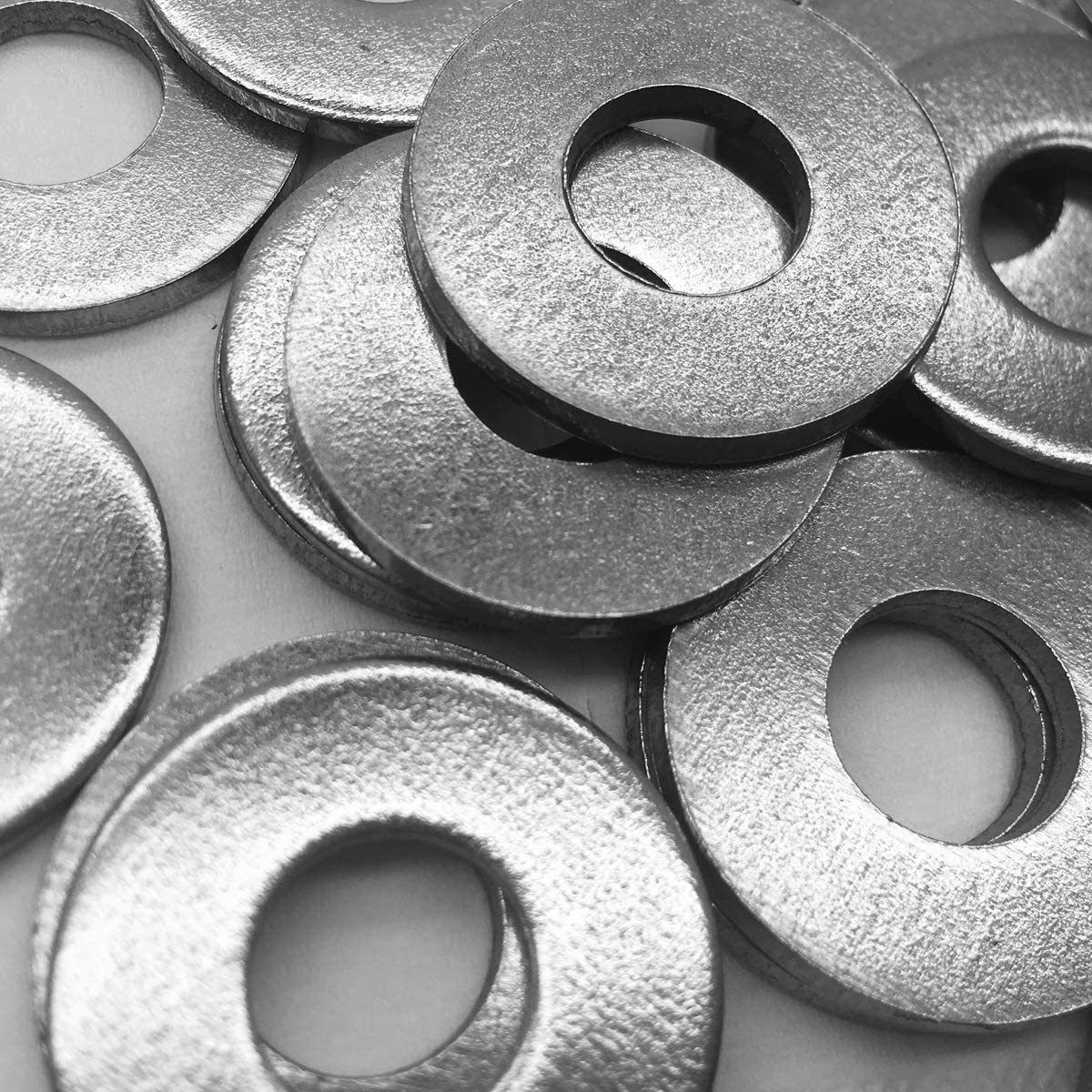 """M10 NGe M10 Stainless Flat Finish Washers 1.18/"""" 18-8 Stainless Steel 30mm 25Pcs OD"""